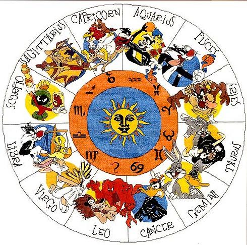 Вышивка схема знаки зодиака